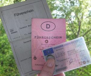 Führerschein alt neu